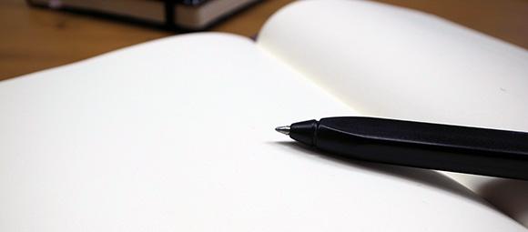 モレスキンとペン