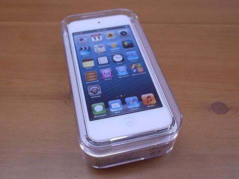 第5世代 iPod touch 開封前