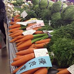 生産者の野菜