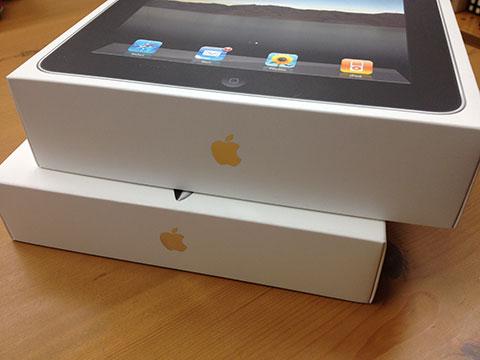 iPadの箱