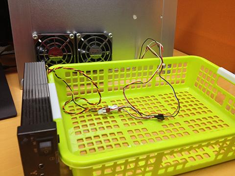 冷却台の仕組み