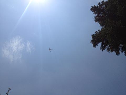 iPhoneで撮影した空