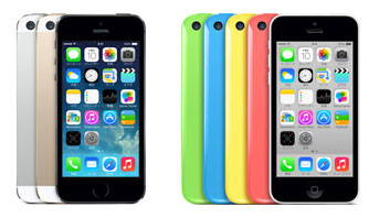 iPhone 5sとiPhone 5c