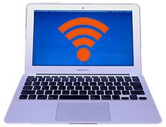 MacBook Airをau Wi-Fi SPOTに接続