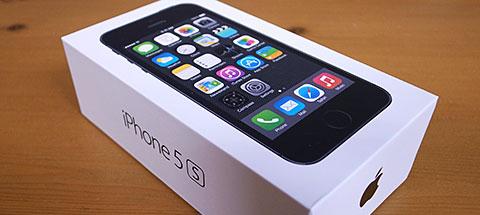 iPhoe 5sパッケージ