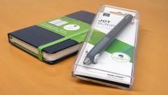 JOT SCRIPTとMOLESKINE EVERNOTEノートブック