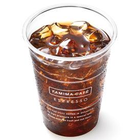 ファミマのアイスコーヒーSサイズ