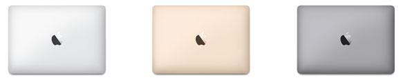 MacBookのカラー