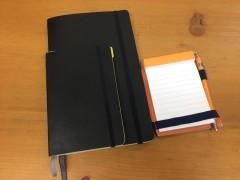 モレスキンとメモ帳