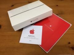 iPad Air2 cellularモデルとスマートカバー