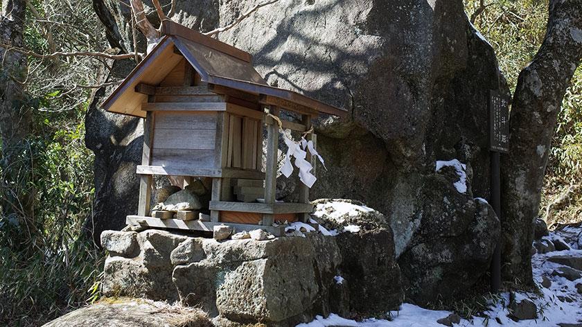 月読尊を祀る小原木神社